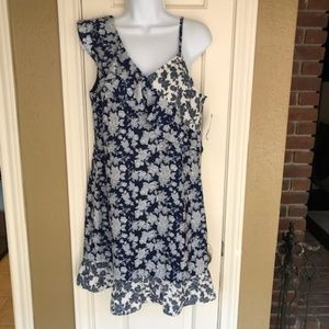 Floral Ruffle Dress. New! Skies Are Blue.